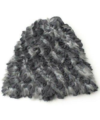 Ca4La * 復古羅紋層次交織手感編織冬日必備暖暖毛線帽(NO.1056)