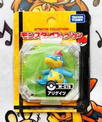 TOMY 中號 神奇寶貝 寶可夢 Pokemon Go口袋妖怪 寵物小精靈 神奇寶貝 MC 手辦 小鋸鰐 藍鰐