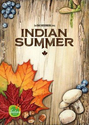 大安殿實體店面 Indian Summer 印地安的夏日 暖秋物語 英文正版益智桌遊