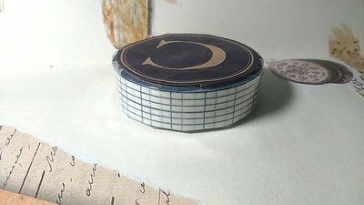 【R的雜貨舖】紙膠帶分裝 倉敷意匠和紙膠帶- 12mm藍色方眼 復刻基礎款 復古