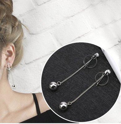 耳環 氣質百搭耳墜  耳針  耳環 夾式 項鍊 耳環飾品