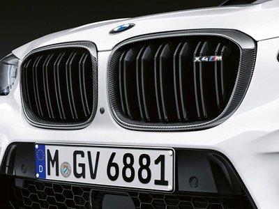 【樂駒】BMW X4M F98 原廠 M Performance Carbon 碳纖維 水箱罩 黑鼻頭 空力 外觀 套件