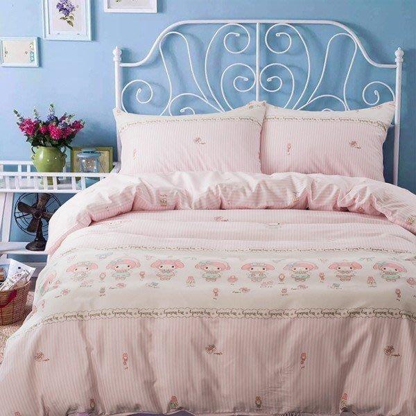 kitty四件套純棉美樂蒂1.8m床粉色凱蒂貓床單可愛卡通kt貓4件套全棉床品