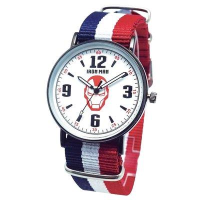 正版原廠 MARVEL 授權 台灣限定製造 曼威英雄 鋼鐵人 IRON MAN 手錶 日本機芯