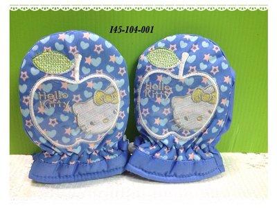 * QP小舖 * Sanrio《Hello Kitty》幼兒防風保暖手套(3S) 高雄市