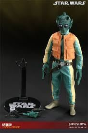 "Sideshow Star Wars EXCLUSIVE GREEDO Scum & Villainy 12""1/6人偶"