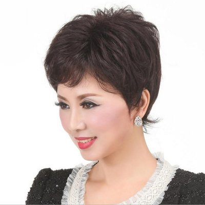 水媚兒假髮7M075♥新款女士假髮 短微捲髮♥ 現貨或預購 團購批發