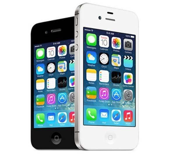 免運+送保護套+鋼化膜 APPLE IPHONE 4S 8G 16G 32G 800萬華素 黑白2色