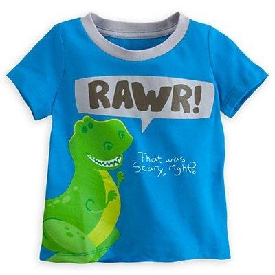 【Nichole's歐美進口優質童裝】美國迪士尼Disney Store玩具總動員抱抱龍藍色短袖上衣*Carter's