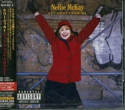 K - Nellie Mckay - Get Away From Me - 日版 2 CD - NEW