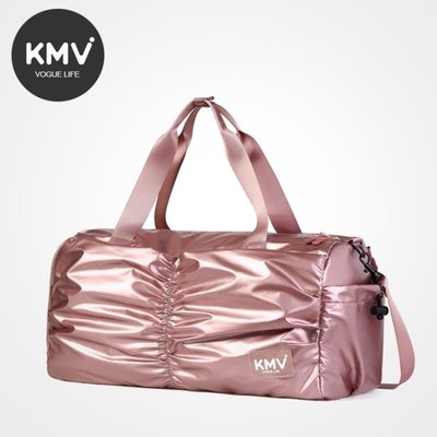 【蘑菇小隊】健身包潮運動旅行包干濕分離輕便手提行李包-MG74659