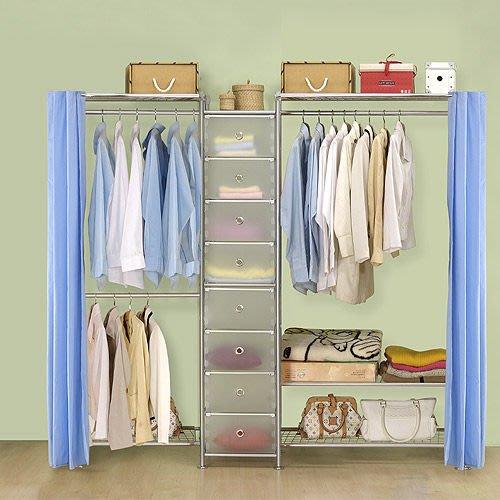 【中華批發網DIY家具】D-62A-05-W2型60+pp+W3型90衣櫥置物櫃-(前罩)不織布