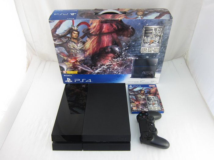 SONY PS4 500G CUH-1007A 真三國無雙7 with猛將傳同捆機*只要4500元*(A0966)