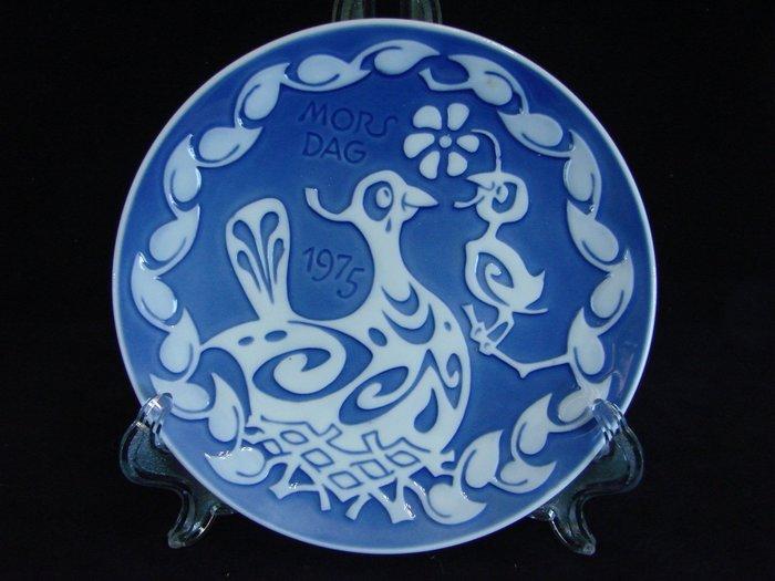 清倉➷➷大降➷ ♔80一元起標 ·.丹麥皇家哥本哈根骨瓷.·Royal Copenhagen【1975 母親節盤】Z87