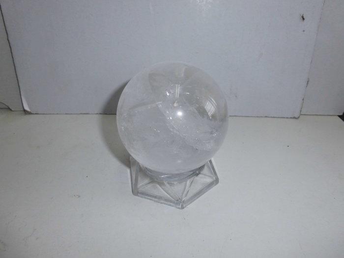 74mm天然白水晶球