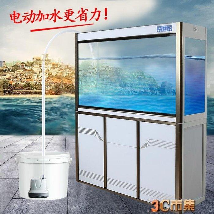 魚缸換水器加水換水管電動抽水軟管虹吸換水神器魚缸抽水泵吸魚便