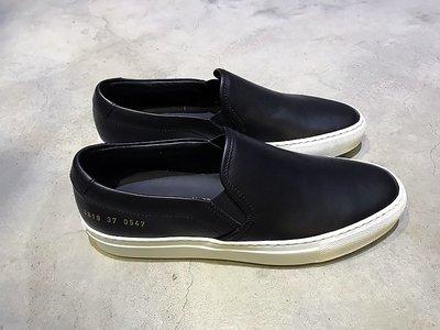 現貨【COMMON PROJECTS】18春夏 SLIP ON 皮革懶人鞋 黑白 女生款 *50%OFF*