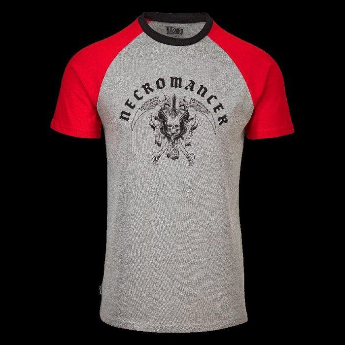 【丹】暴雪商城_Diablo Varsity Raglan Shirt 暗黑破壞神 T恤