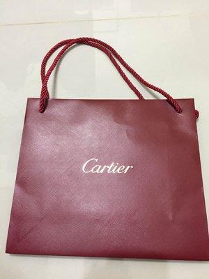 【專櫃正品】Cartier 卡地亞 紙袋26.5*23*9cm 中