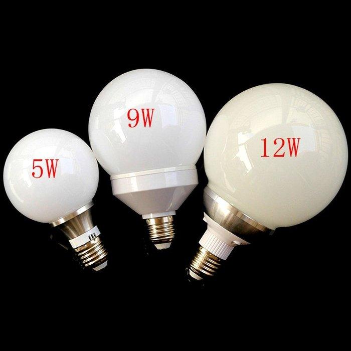 5Cgo【權宇】設計師款 E27 LED奶白龍珠燈泡 G80 G95 G125 5W 6W 9W 12W 85~265V