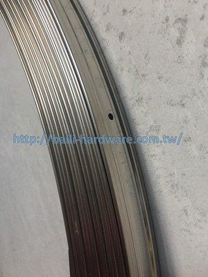 『寰岳五金』PC耐力板專用 白鐵壓條 36x3.4mm 遮雨棚遮光罩採光板PC耐力板專用白鐵壓條