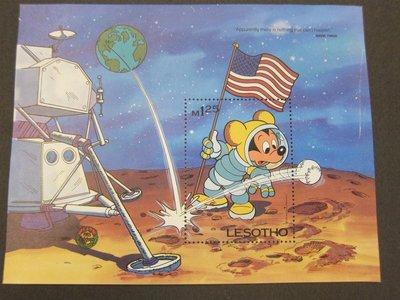 【雲品二】賴索托Lesotho 1985 Sc 510 Disney (crease) set MNH 庫號#B302 62722