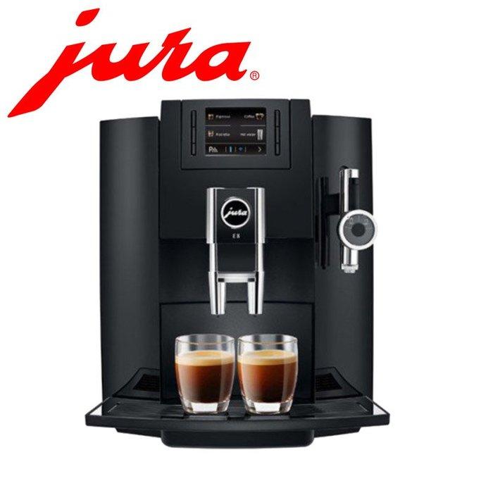 瑞士Jura 優瑞 E8 全自動 咖啡機  琴鍵黑 磨豆機 15109 全新 空運