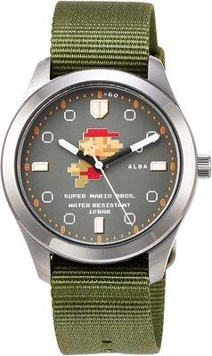 日本正版 SEIKO 精工 ALBA ACCK424 超級瑪利歐 瑪利歐 手錶 日本代購