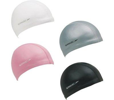 SPEEDO 成人泳帽 合成泳帽 運動泳帽 泳帽 Ultra Pace SD801731__  黑 白 銀 粉 四色可選