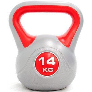 KettleBell運動14公斤壺鈴30.8磅14KG壺鈴拉環啞鈴搖擺鈴舉重量訓練重力健身C171-1814【推薦+】