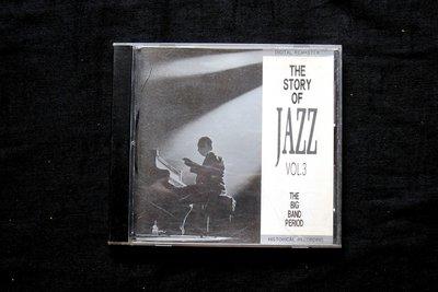 絕版CD----THE STORY OF JAZZ VOL3  THE BIG BAND PERIOD