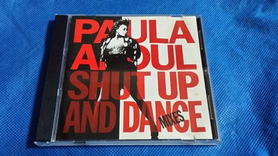 R西洋男(二手CD)PAULA ABOUL SHUT UP AND DANCE~1990年UK版~無IFPI