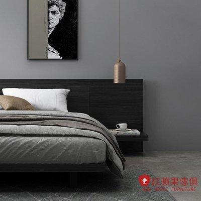 [紅蘋果傢俱]愛奇居系列 DS 5尺大直背床(另售6尺床)  簡約床 現代床 北歐床 雙人床