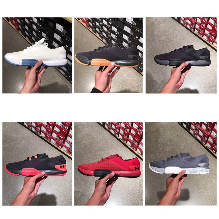 【G CORNER】Under Armour UA 訓練鞋 健身 重訓 訓練 多色 男鞋 3021289