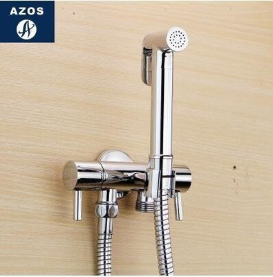 【優上】德國 增壓手持花灑冷熱婦洗器噴頭噴槍淋浴 馬桶閥龍頭套裝「B款套裝(單冷水)」