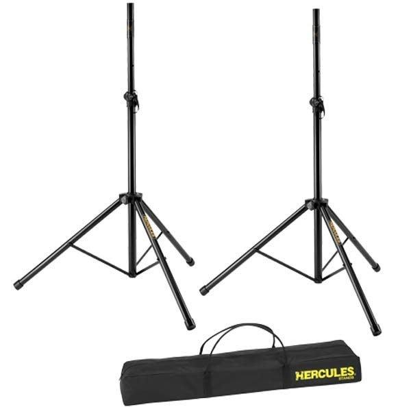 《民風樂府》HERCULES 海克力斯 SS200BB 舞台用音箱架 二支喇叭架 含攜行袋 街頭藝人必備