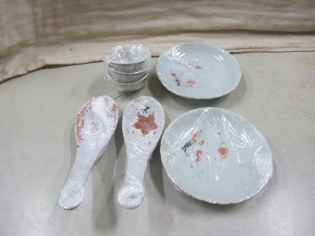 二手舖 NO.1462 陶瓷 瓷器 餐具 湯匙 小碟 茶杯