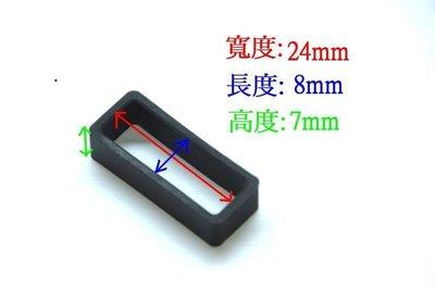 艾曼達精品~24mm矽膠表帶圈, 錶圈, 錶帶環可替代同規格電子錶, 造型錶, 石英錶.......之錶圈 台北市