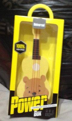全新吉他造型維尼 Power box行動電源