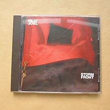 明星錄*1989年奧地利版.比利喬專輯.STORM FRONT二手CD.無IFPI(k387)