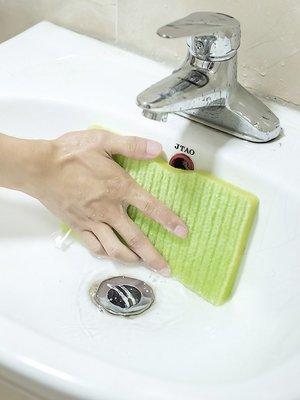聚吉小屋 #日本浴室清潔刷納米海綿擦替...