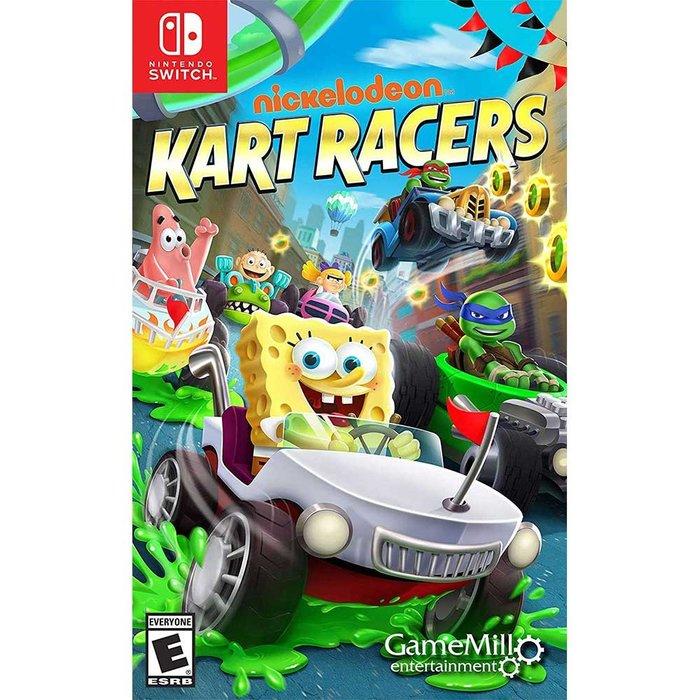 (現貨全新) NS SWITCH 尼可卡通賽車手 英文美版 Nickelodeon Kart Racers