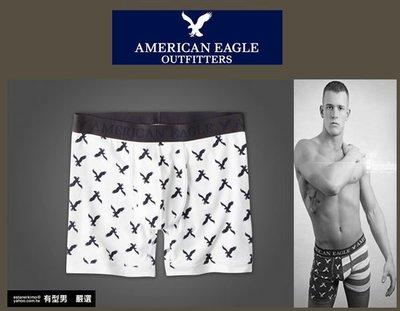 有型男~ AE American Eagle VS CK內褲 Underwear 運動長版白老鷹 XS S M 貝克漢
