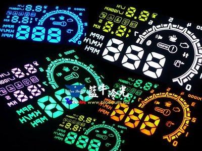 【藍牛冷光】雙色 ASH 4C OBD HUD抬頭顯示器 CRV FOCUS ELANTRA IX35 SANTA FE