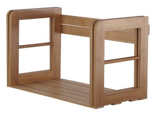 辦公室【家具先生】竹製伸縮書架 書櫃 收納架 置物架 雜誌架 2672