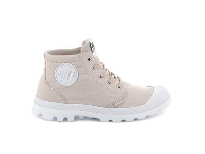 =E.P=PALLADIUM PALLAPHOENIX 粉紅 高筒 靴子 帆布 輕量 白標 女鞋 76222638