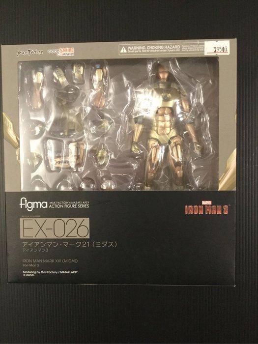 COME 玩具 正版 Figma 鋼鐵人3 IRON Man3 金色塗裝