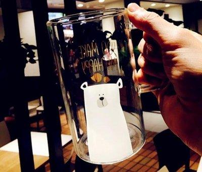 馬克杯 創意玻璃馬克杯簡約情侶玻璃杯大容量清新辦公杯耐熱   全館免運