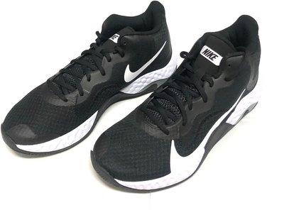 91☆NIKE 新上市NIKE 黑白 籃球鞋 男款 運動鞋~US8.5~13號 嘉義縣