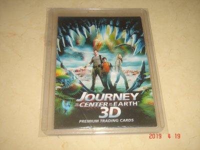 電影 地心冒險 2008 Trading Card #1 球員卡
